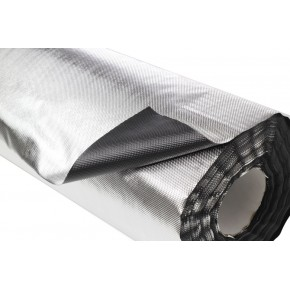 Plastico Reflectante Diamond/Negro 30x1,22M