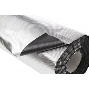 Plastico Reflectante VDL Diamond/Negro 100x1,22M