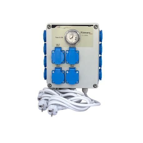 Temporizador electrico GSE 12x600w