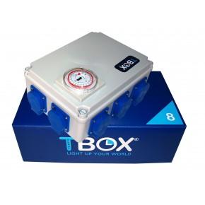 Temporizador electrico TBOX 8x600W