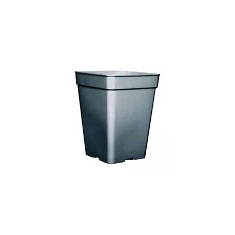Maceta cuadrada 27x27x40  20L Negra (40/540)