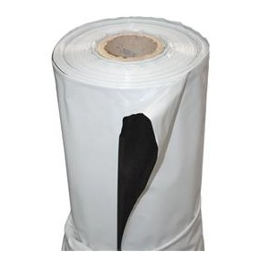 Plastico reflectante VDL Blanco/negro (2 x 100m)