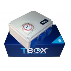 Temporizador electrico TBOX 6x600W