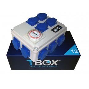Temporizador electrico TBOX 12x600W
